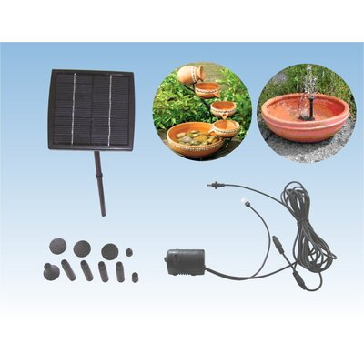 Unique Arts 33 GPH Small Solar Deisel Pump with Rotating Holder and Brushless Pump
