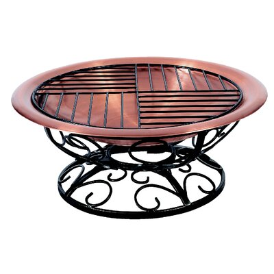 Unique Arts Fall Leaf Scroll Fire Pit