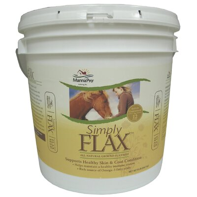 MANNA PRO-FARM Simply Flax Equine Supplement