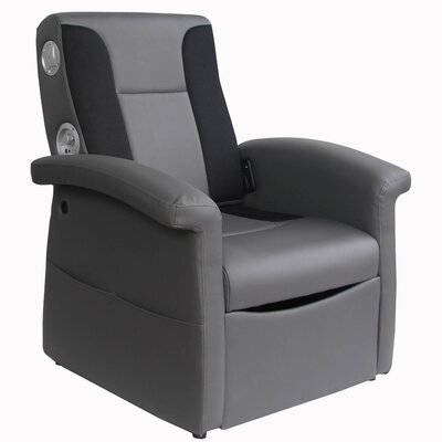 X Rocker X-Rocker Storage Flip Sound Chair with Arms