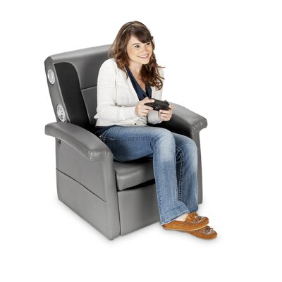 X-Rocker Storage Flip Sound Chair with Arms
