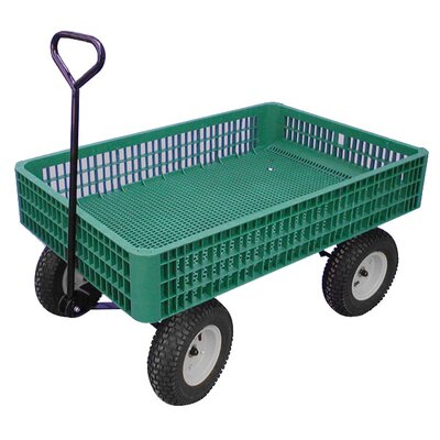 "Millside Industries 30"" x 46"" Mesh Deck Wagon"