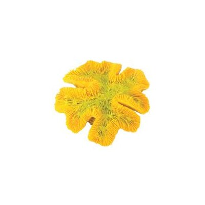 Design Elements Yellow Coral Aquarium Ornament