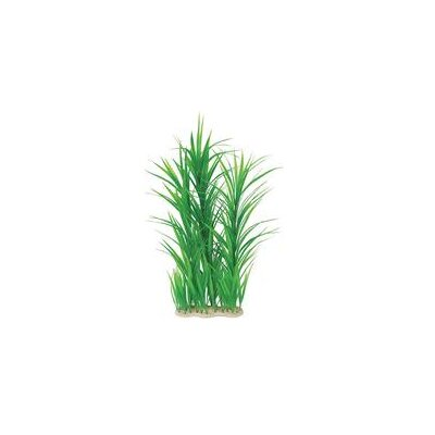 Pure Aquatic Natural Elements Giant Hygrophilia Aquarium Ornament in Green