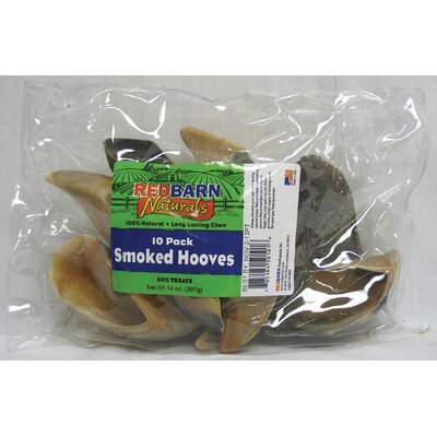 "Redbarn Pet Products Inc 3.5"" Smoked Hooves Dog Treat (10-Pack)"