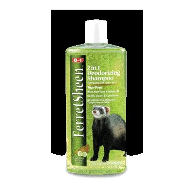 ecotrition Ferretsheen Deodorzing Small Animal Shampoo - 10 oz.
