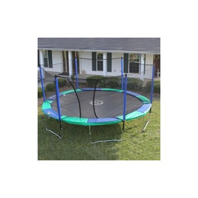 14' Round Trampoline with Enclosure