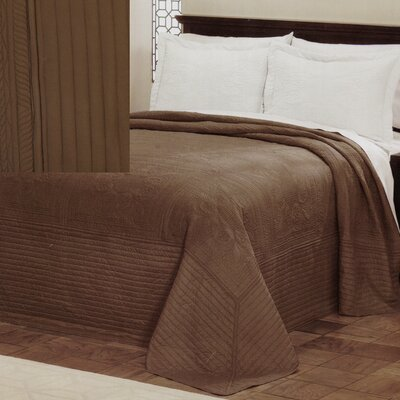 American Traditions French Tile Microfiber Polyester Bedspread