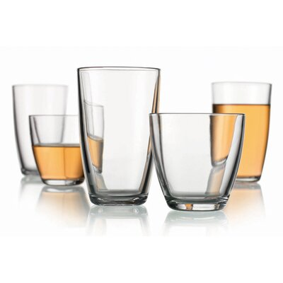 Home Essentials Maya 16-Piece Drinkware Set