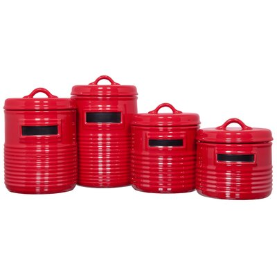 Home Essentials Can Shaped Canister (Set of 4)
