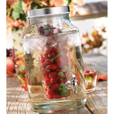 Home Essentials 1.5 Gal Del Sol Infuser Jug Dispenser
