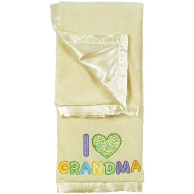 2 Ply Blanket I Heart Grandma Crib Throw