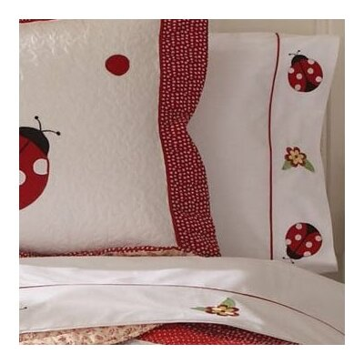 Lady Bug Yard 200 Thread Count Sheet Set