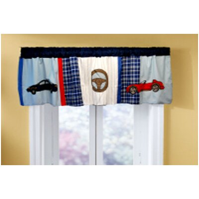 My World Cars Cotton Curtain Valance
