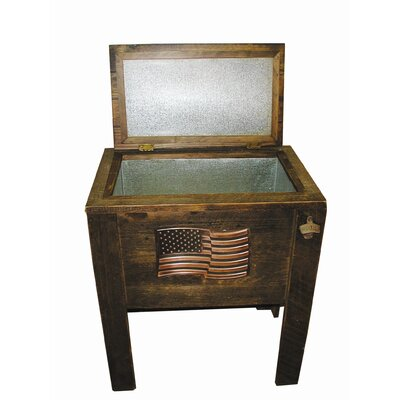 Wildlife Enterprises Wooden Cooler