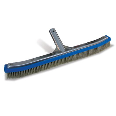 Poolmaster Classic Aluminum Back Algae Brush