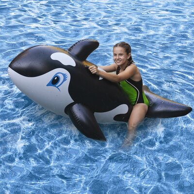 Poolmaster Whale Jumbo Rider Pool Toy