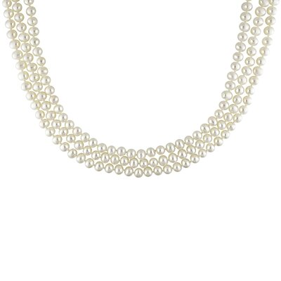 Freshwater Cultured White Cultured Pearl Necklace