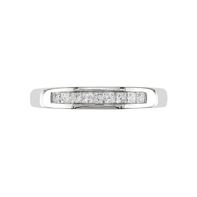 White Gold White Diamonds Eternity Ring