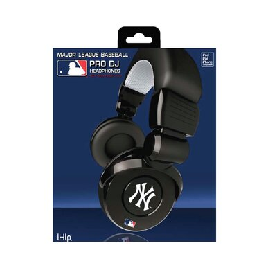 iHip MLB IHIP Pro DJ Headphones with Microphone