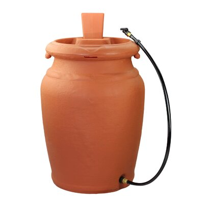 Forest City Models and Patterns Yimby 50 Gallon Urn Style Rain Barrel
