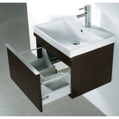 venasca 24 single wall mount bathroom vanity set wayfair