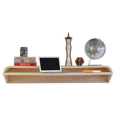 Orange22 botanist floating wall desk reviews wayfair - Orange floating desk ...