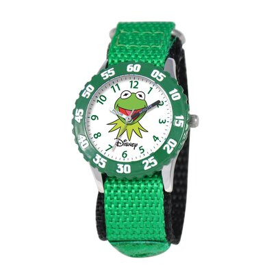 Kid's Muppets Time Teacher Watch in Green