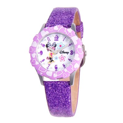 Disney Girls Tween Glitz Minnie Mouse Watch