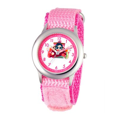 Disney Girl's Wreck-It Ralph Time Teacher Watch