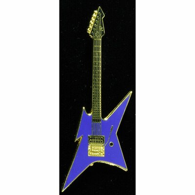 BC Rich Ironbird Electric Guitar in Gold and Blue