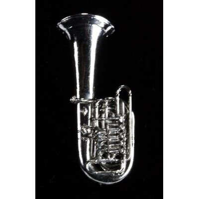 Harmony Jewelry Tuba Pin in Silver