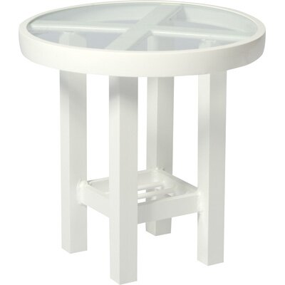Woodard Elite Round Side Table