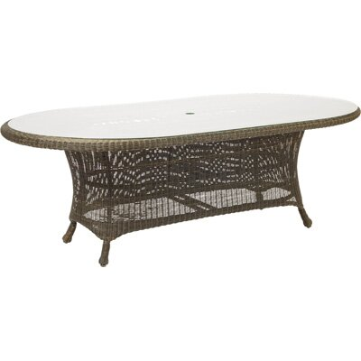 Woodard Serengeti Oval Dining Table