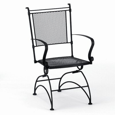Woodard Bradford Coil Spring Dining Arm Chair