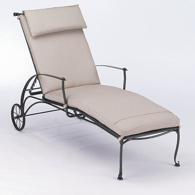 Woodard Maddox Chaise Lounge With Cushion