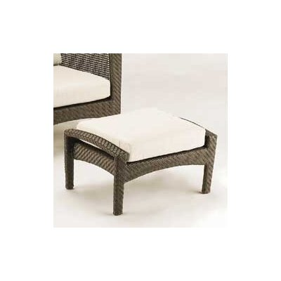 Woodard Trinidad Ottoman with Cushion