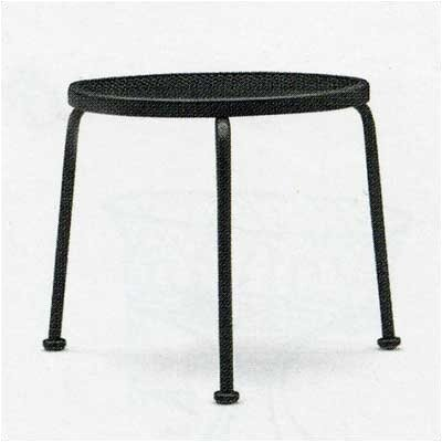 Woodard Mesh Top Occasional Stackable Side Table