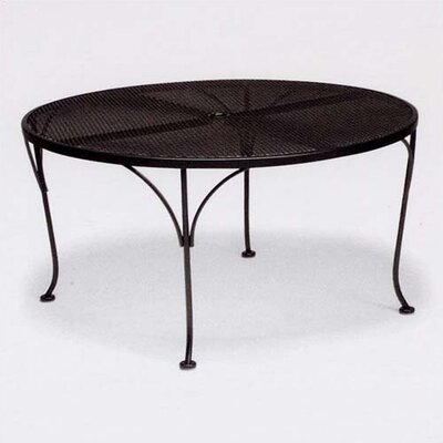 Mesh Top Round Chat Dining Table