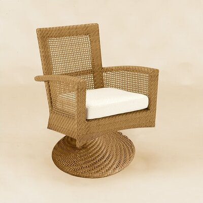 Woodard Trinidad Wicker Lounge Chair  with Cushion