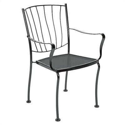 Woodard Aurora Stacking Dining Arm Chair