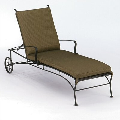 Woodard Bradford Chaise Lounge