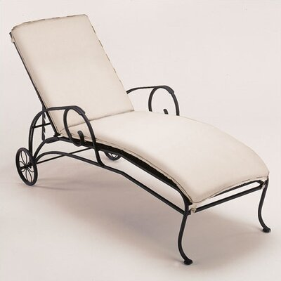 Woodard Modesto Chaise Lounge with Cushion