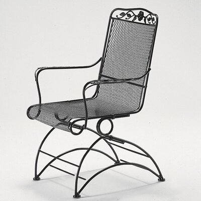 Woodard Windflower Coil Spring Dining Arm Chair
