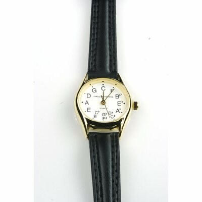 The Chromatic Watch Company Ladies' Deluxe Chromatic Watch in Black