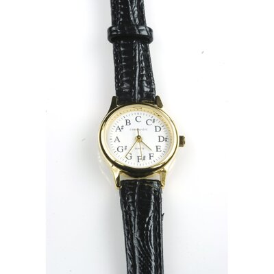 The Chromatic Watch Company Ladies' Textured Deluxe Chromatic Watch in Black