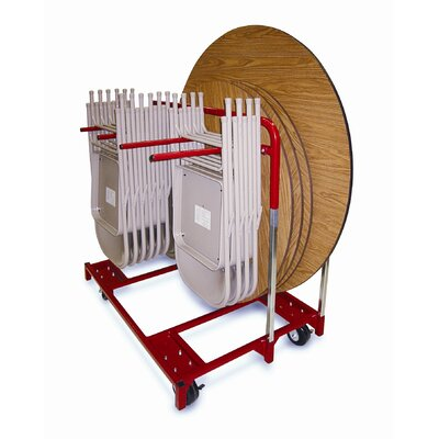 Raymond Products Folding Chair and Round Table Mover