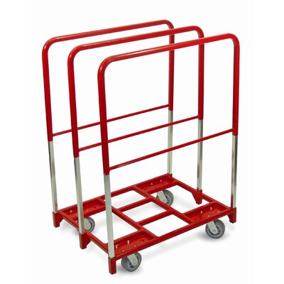 Raymond Products Panel Mover 5&quot; Quiet Poly Casters, 2 Fixed and 2 Swivel, 3 Extra Tall Uprights