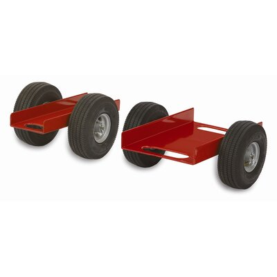 Raymond Products Heavy Duty Caddy Channel, Airless Wheels