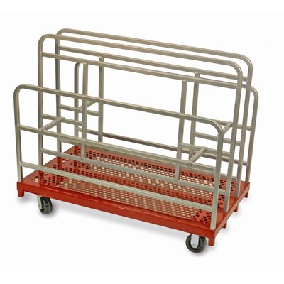 Raymond Products Coated Heavy Duty Cross Braced Panel and Sheet Mover Table Dolly